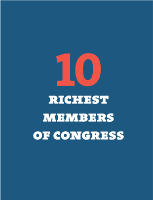 10 Richest Members of Congress